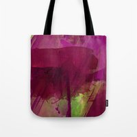 "girly Tote Bags featuring ""Girly"" by hayleytheartist"