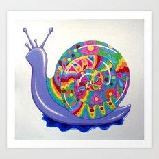 Snail Trail Art Print