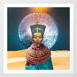 Tiye Art Print
