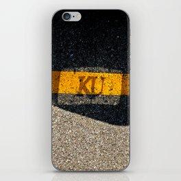 Rock Chalk Sidewalk iPhone Skin
