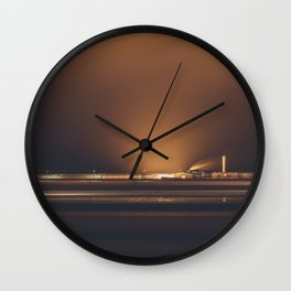 Urbex night Wall Clock