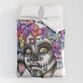 Sugar Skull Girl Comforters