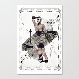 Jack of Carbon Canvas Print