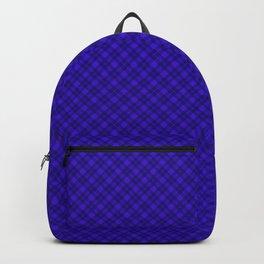 Diagonal plaid 6 Backpack