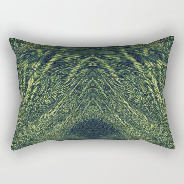 The Emerald Hall Rectangular Pillow