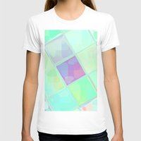 lv T-shirts featuring Re-Created Mirrored SQ LV by Robert S. Lee by Robert S. Lee Art
