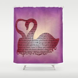 It's True Love Shower Curtain