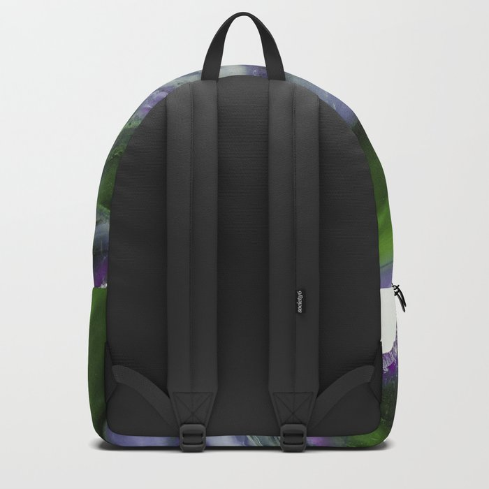 Purple and Green Agate Backpack