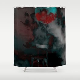 Hallucination Shower Curtain