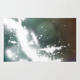 abstract background with highlights Rug