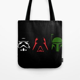 Star Wars Silhouettes Black Tote Bag