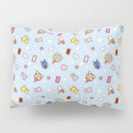 cardcaptor cute pattern blue Pillow Sham