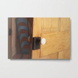Open Door Policy Metal Print