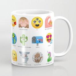 Emojis I wish Existed Coffee Mug