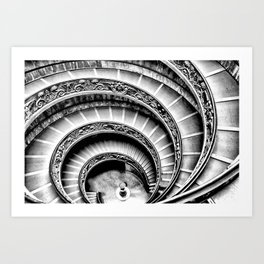 Rome [Perspective Angle N°1] Italy Art Print