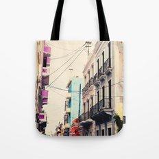 Colorful Buildings of Old San Juan, Puerto Rico Tote Bag