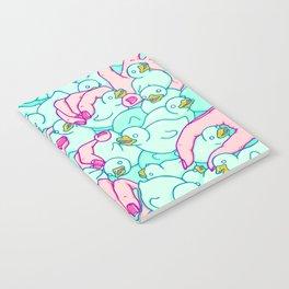 Rubber ducks pool Notebook