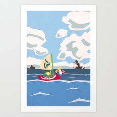 The Wind Waker Art Print