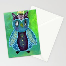 Quirky Bird 3 Stationery Cards