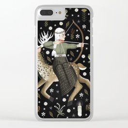 archer Clear iPhone Case