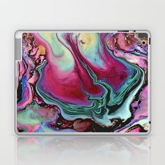 Colorful abstract marbling Laptop & iPad Skin