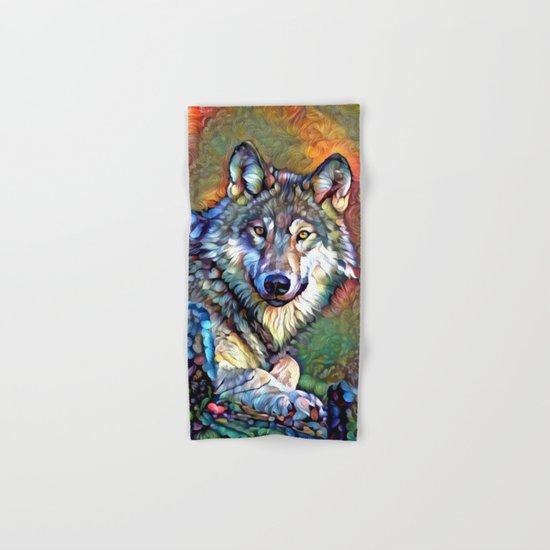 Aura of the Wolf Hand & Bath Towel
