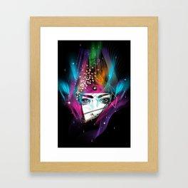 Femina Nebulae Framed Art Print