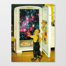 No More Galaxies for Today, Timmy! Canvas Print
