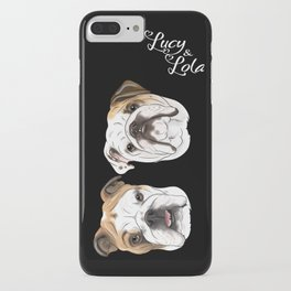 Lucy & Lola iPhone Case