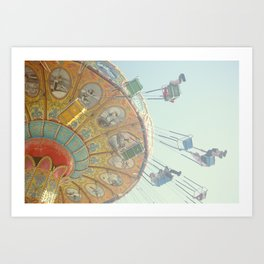 Swings-Whee! Art Print