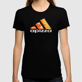 apizza funny pizza work out shirt T-shirt
