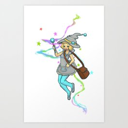 Magical Girl Art Print