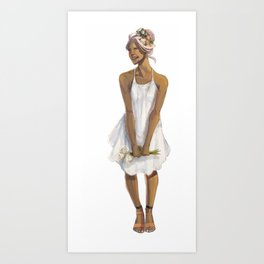 Flower Crowned | Allura Art Print