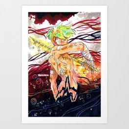 Star Warrior Art Print