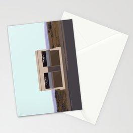 Marfa Installation: A digital illustration Stationery Cards