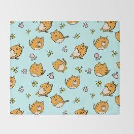 Kawaii Cats Throw Blanket