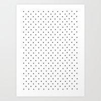 Simple Cross Art Print