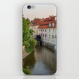 Water Mill, Kampa Island, Prague, Czech Republic iPhone Skin