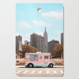 New York Ice Cream Cutting Board