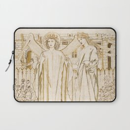 "Edward Burne-Jones ""Chaucer's 'Legend of Good Women' - Amor and Alcestis"" Laptop Sleeve"