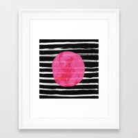 dot Framed Art Prints featuring Dot by Elisabeth Fredriksson