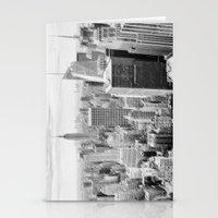 manhattan Stationery Cards featuring Manhattan by Sébastien BOUVIER