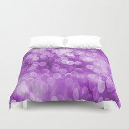 Bokeh Light In Violet #decor #society6 #homedecor Duvet Cover