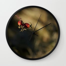 Fleshy Fruit Wall Clock
