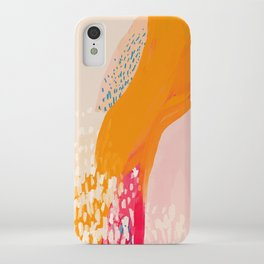 The Abstract Shape Of Spring iPhone Case