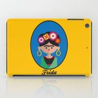 frida iPad Cases featuring Frida by Juliana Motzko
