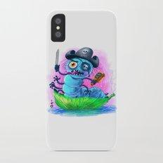 pirate worm iPhone X Slim Case