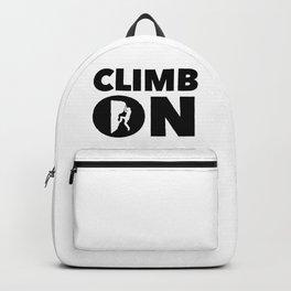 Climb On Backpack