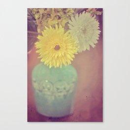Grandma's House / Vintage Flowers Canvas Print