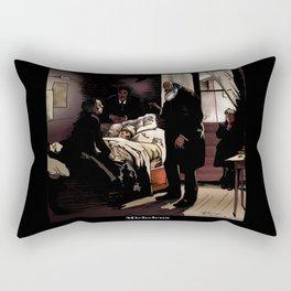 El niño enfermo  Rectangular Pillow